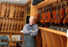 Violin Shop in Massachusetts